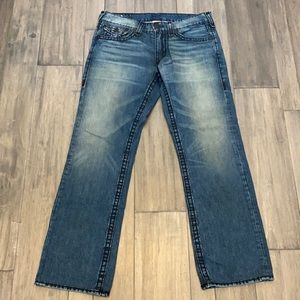 True Religion Section Ricky Super T Seat 36 Jeans